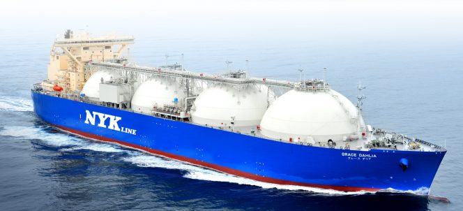 NYK Line agrees 20-charter for LNG newbuild with Edison