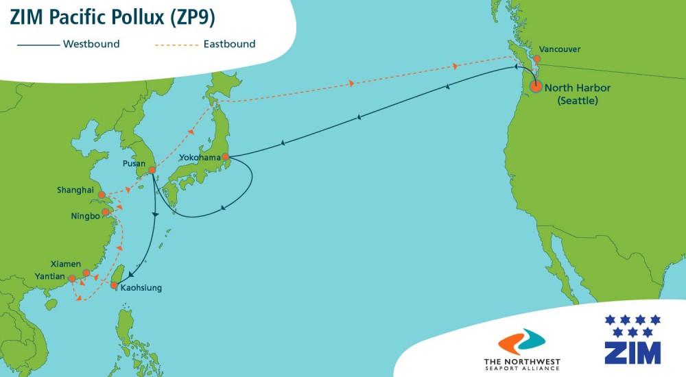 ZIM Pacific Pollux (ZP9)