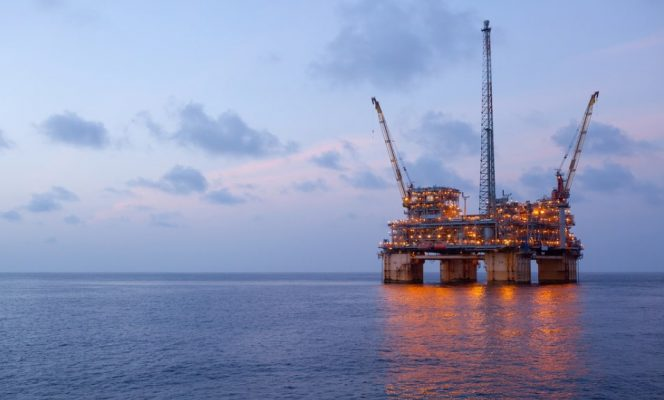 A Gulf Mexico platform / Image by BP