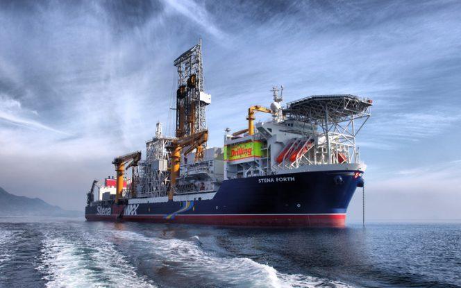 Stena Forth drillship; Source Stena Drilling Ltd