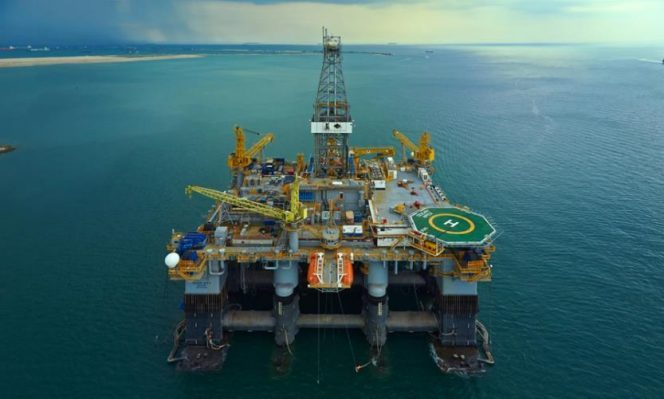 Ocean Apex rig - Image source: Diamond Offshore Drilling
