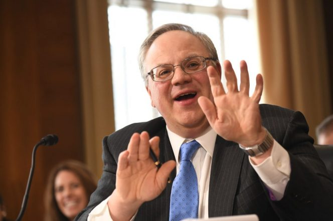 David Bernhardt during the confirmation hearing in March / Image by Department of Interior/Flickr