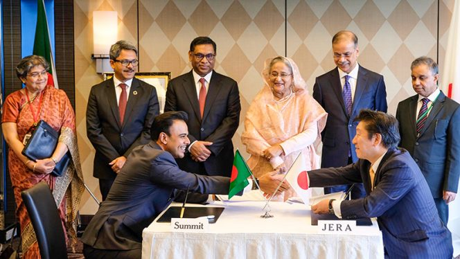 Summit, JERA to set up $500 mln energy project in Bangladesh