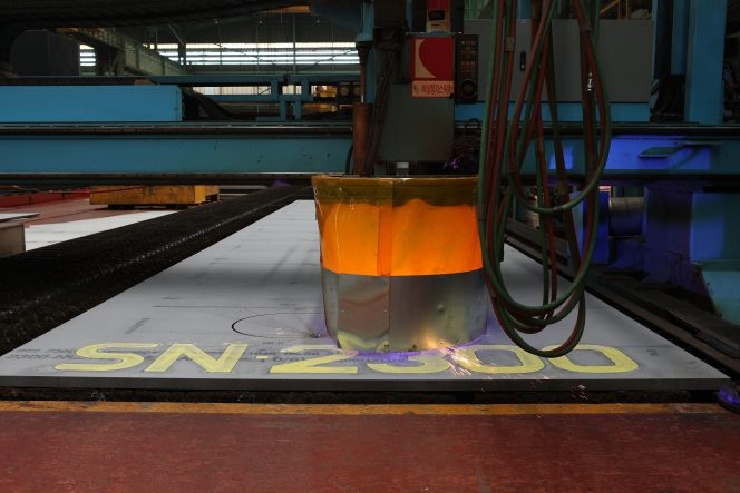 GasLog cuts steel for X-DF LNG carrier at Samsung Heavy