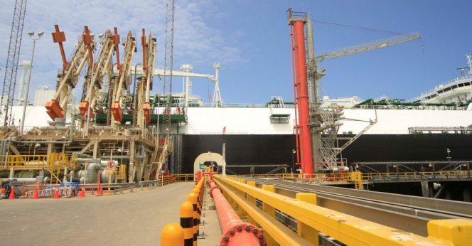 Peruvian monthly LNG exports slide