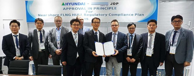 DNV GL grants AIP for Hyundai Heavy's nearshore FLNG barge