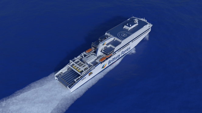 Brittany Ferries LNG-powered vessel delivery pushed to 2020