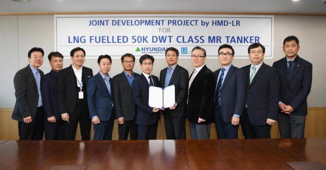 Lloyd's Register approves HMD's LNG-fueled tanker design