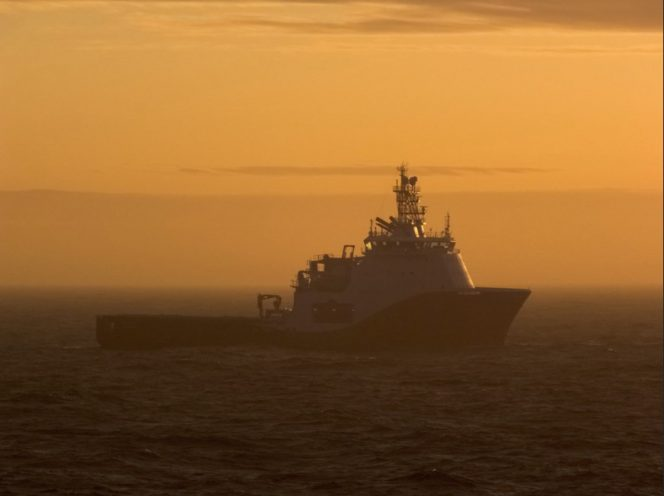 Illustration only: An anchor handler offshore / Imagy by SP Mac - shared with permission from the photographer