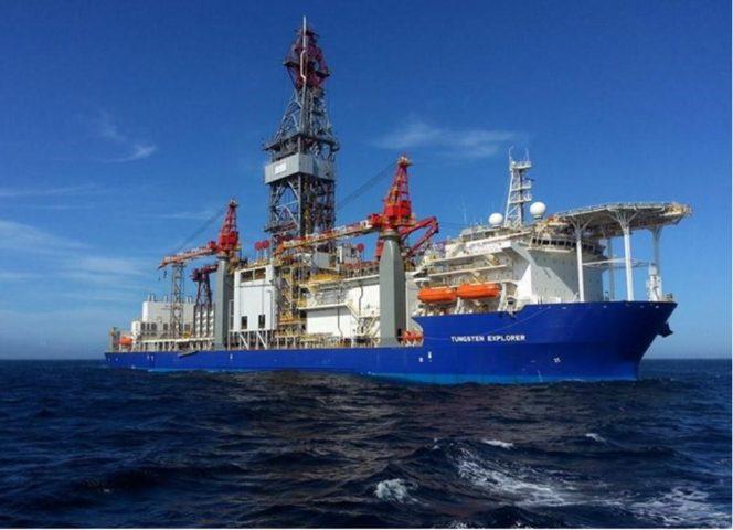 Tungsten Explorer drillship / Image source: Dana Gas