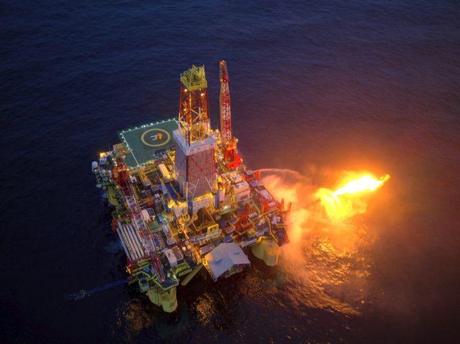 Well testing at Rusanovsky licensed block in Kara Sea. Source: Gazprom