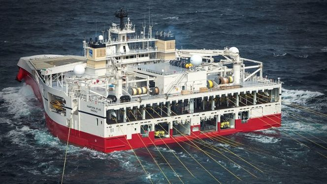 The Ramform Atlas vessel / Image source: PGS