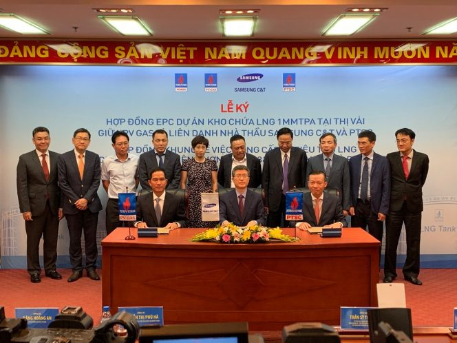 Samsung C&T to build Vietnam's first LNG terminal