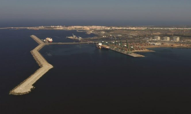Nigerian LNG cargo heading for Portugal