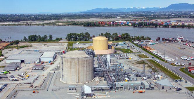 Fortis BC starts up Tilbury LNG expansion