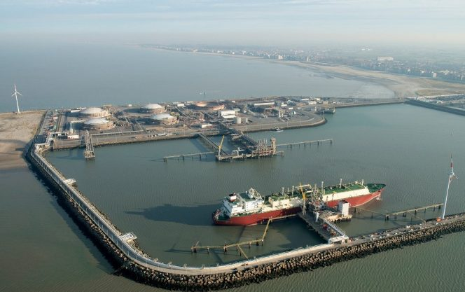 Pair of Qatari LNG cargoes heading for Zeebrugge