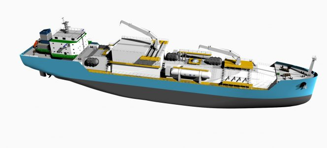 Wärtsilä tech ordered for China's first seagoing LNG bunker vessel