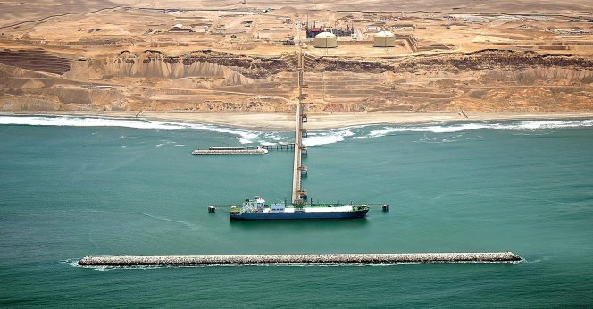 Peruvian LNG exports edge down in May