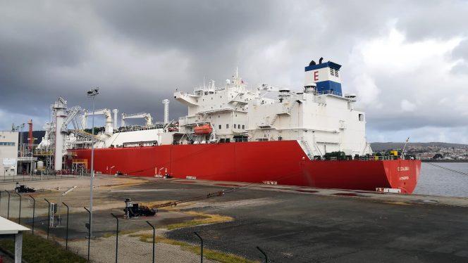 Mugardos LNG receives its first Corpus Christi cargo