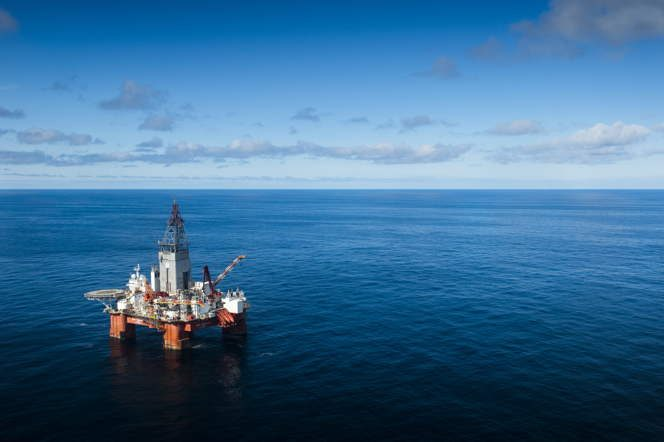 West Hercules in the Barents Sea; Source: Equinor; Photo by: Ole Jørgen Bratland