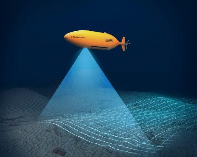Illustration: An Oceaneering AUV - Image source: Oceaneering