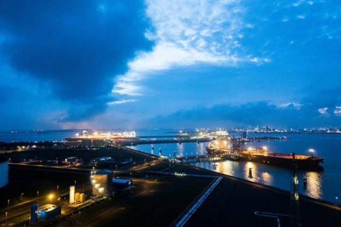 GATE LNG terminal's half-year throughput soars