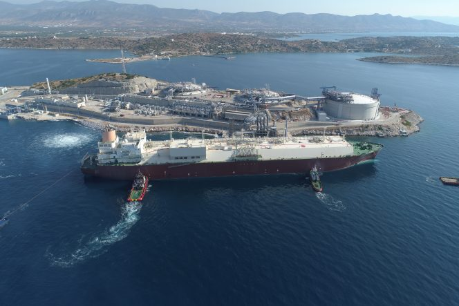 Qatargas makes first Q-Flex delivery to Greece's Revithoussa LNG terminal