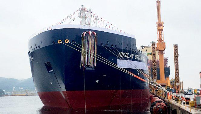 MOL names its third Arctic LNG carrier