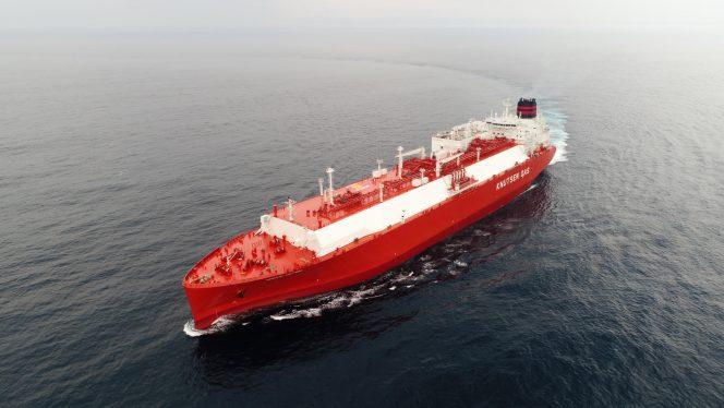 Knutsen's 12th LNG carrier departs HHI shipyard