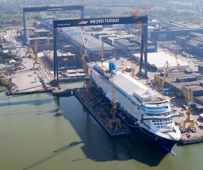 Meyer Turku scores third LNG-fueled Icon vessel for Royal Caribbean