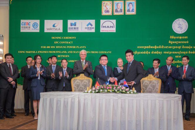 Wärtsilä to provide dual-fuel 200 MW power plant to Cambodia