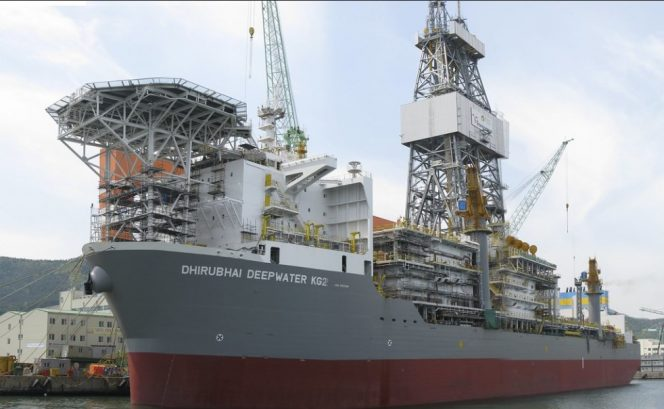 Illustration: A Transocean drillship; Photo by John/Flickr - Shared under CC BY-NC 2.0 license