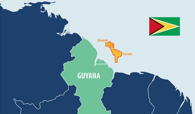QP Guyana acreage - Map by Qatar Petroleum