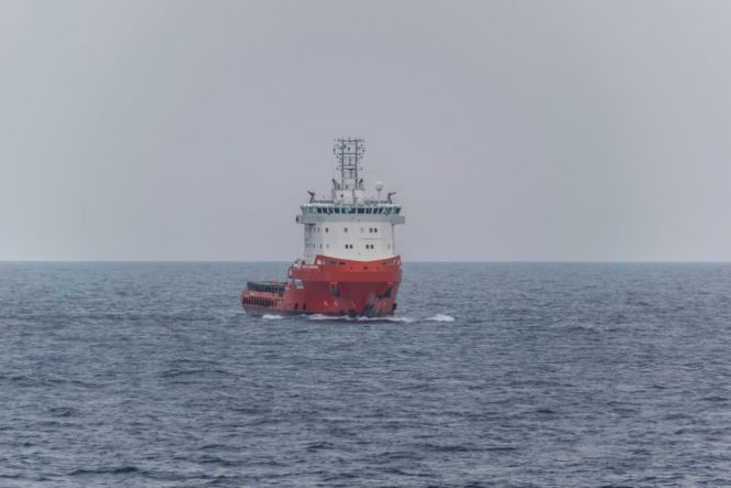 Illustration; An Emas Offshore vessel - Image by SPMac - shared with permission from the photographer