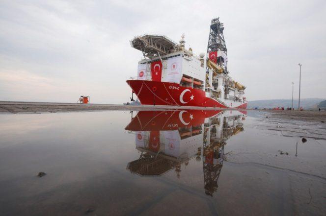 The Yavuz Drillship / Image by the Turkish Energy Ministry