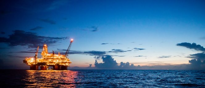 BP's Thunderhorse platform in the Gulf of Mexico