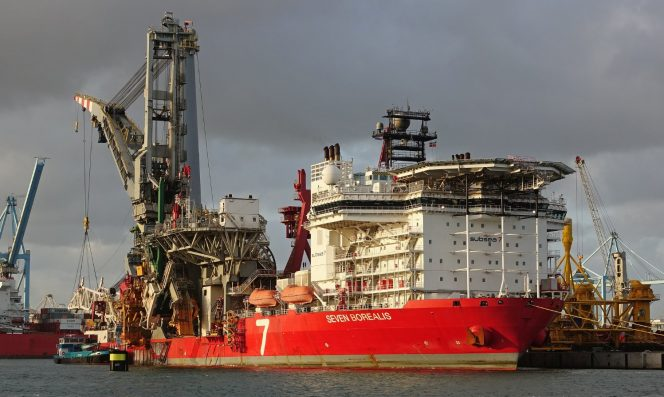 For illustration only: Subsea 7's Seven Borealis vessel - Image by Kees Torn - Flickr