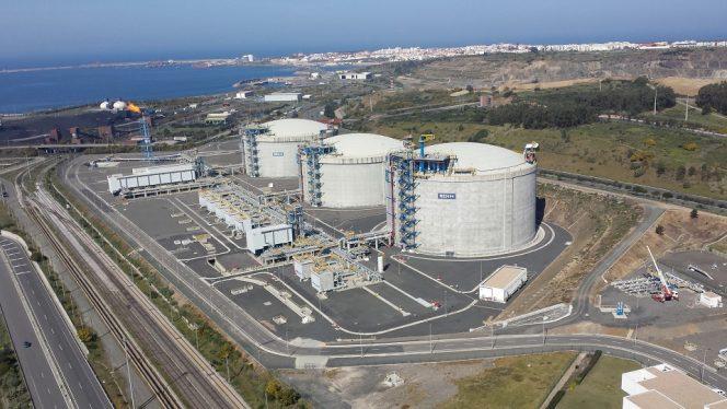 Qatari LNG cargo heading for Portugal