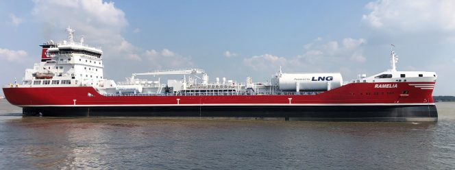 Gothia Tankers Alliance's sixth LNG-fueled tanker delivered