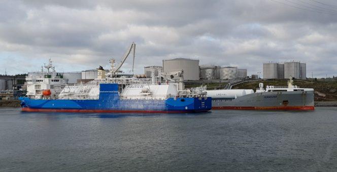Kairos completes first LNG bunkering in port of Södertälje