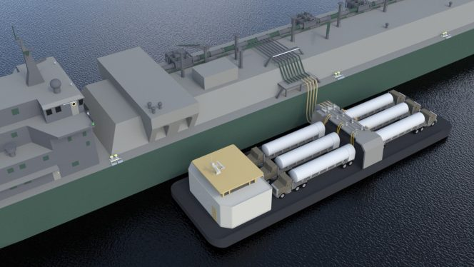 Spain's Naturgy launches new LNG distribution system