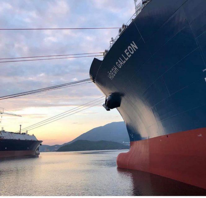 Höegh LNG's tenth FSRU starts interim charter with Cheniere