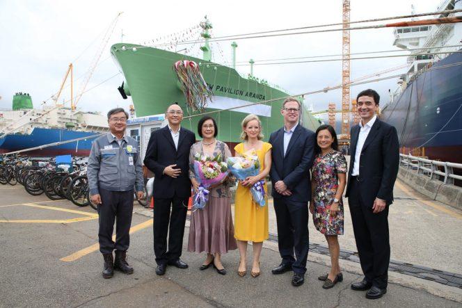 BW' LNG newbuild pair named at DSME