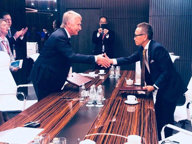 Saibu Gas in LNG partnership with Novatek