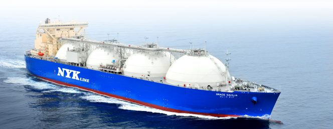 NYK charters LNG carrier newbuild to Total