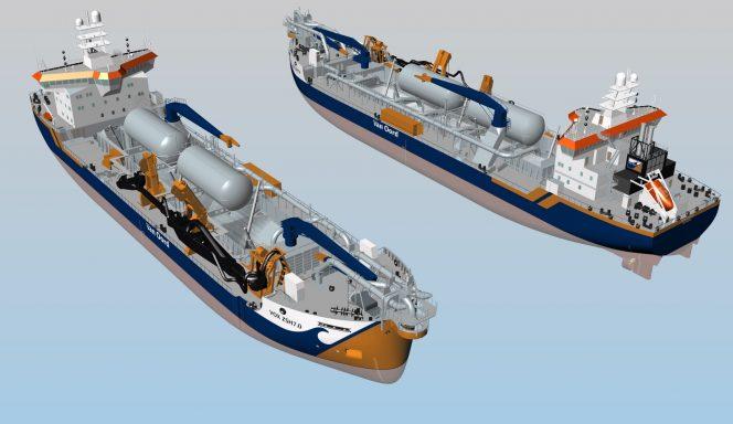 Wärtsilä tech picked for Van Oord's LNG-fueled dredgers