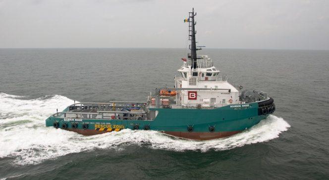 Illustraton: Bourbon Rhode AHT vessel - Image source: Bourbon Offshore