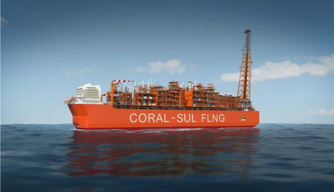 Illustration; Coral South FLNG