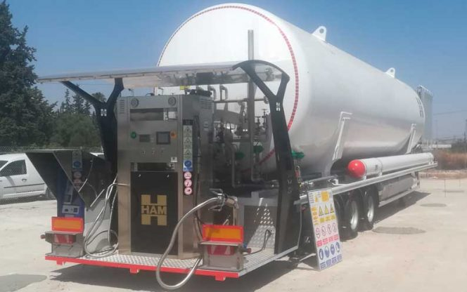 HAM opens LNG fueling station in Murcia