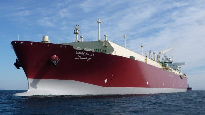 Q-Flex heading for South Hook LNG terminal